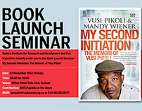 Book Launch Seminar - Ad