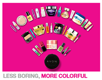 Avon - Less boring, more colorful.