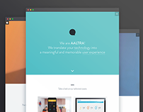 Aaltra portfolio website