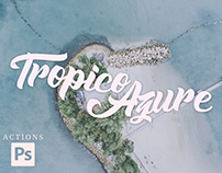 Tropico Azure - Free Photoshop Action