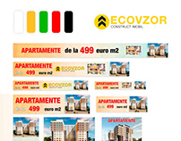 Creating banners for the Google advertising - Ecovzor