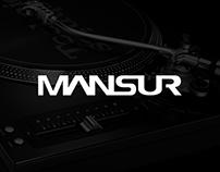 Dj Mansur | Logo