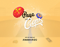 Paye Ton Caps | PROMOTION GAME - WebGL