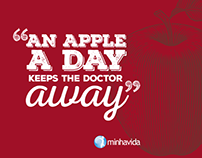 Postal An Apple a Day... @minhavida