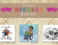 We Need Diverse Books - Posters