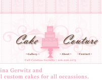 Cake Couture Website