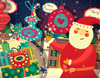 After Effects Template:Christmas & New Year Opener