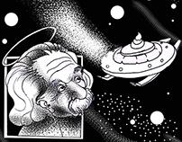 comics ''Mistry  of tween stone'' scifi satire