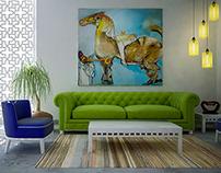 Simple Villa Interior