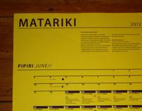 Matariki 2012 Calendar