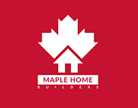 Logo and Branding for Maple Home Builders