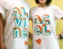 ALVINE and ACEL T-shirt Design