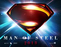 Superman : Man Of Steel (2013) Teaser Poster