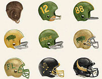 Football Helmet Evolution