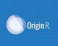 Identity design for Origin R. A personal project