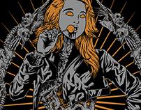 Zombie Girl - Deadly Insane