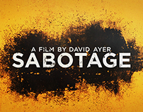 Sabotage – Trailer graphics