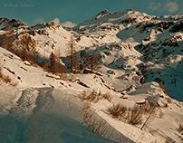 Alpii și zăpezile lor