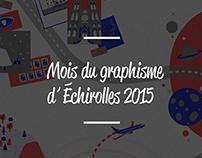 Mois du Graphisme d'Échirolles 2015