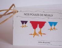 Nos poules de Neuilly - JWT Paris