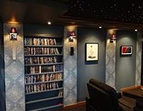A theatre room build.