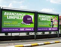 """SIAP: Campaña """"Avanzamos con Limpieza"""""""