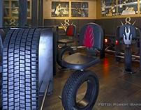 V8 Truck caffe chair