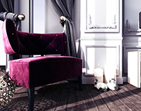 Purple vibes | Bedroom Design
