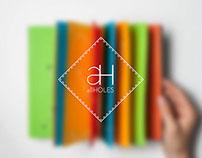 allHOLES - Puzzle book concept