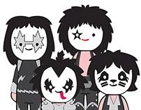 KISS characters