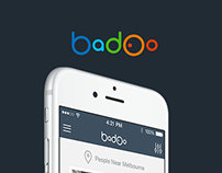 Badoo People Nearby Screen Concept