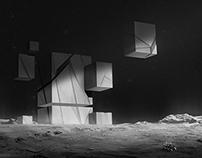 Strange building on a comet