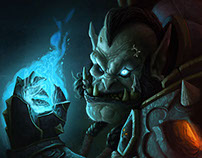 World of Warcraft fan art - saurfang deathbringer