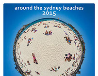 around the sydney beaches - 2015 calendar