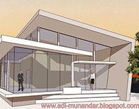 Arsitektur Kantor Konsep Moderen Dinamis di Jakarta