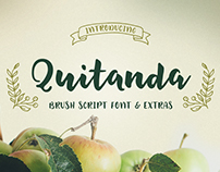 Quitanda - Brush Script & Extras