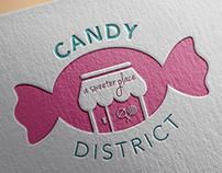 Candy District Logo Concept