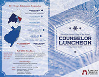 Ramapo Counselor Luncheon Agenda