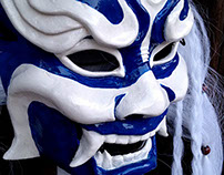 Blue Spirit Mask
