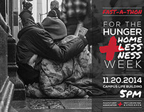 NIU Fast-A-Thon for the Hunger and Homelessness Week