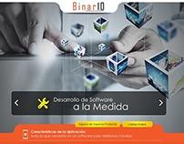 Binario  - LandingPage