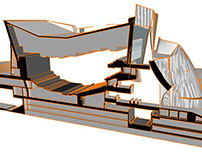 3D Model of Frank Ghery's Walt Disney Concert Hall