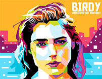 Birdy in WPAP