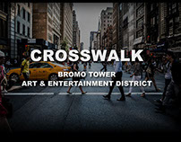 Bromo Art & Entertainment District Crosswalk