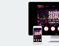 Rainbow Serpent Festival Website