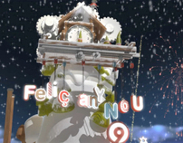 Canal 9 Christmas Branding