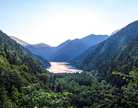 My Homeland - Lake Ritsa (Caucasus)