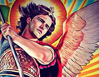 Saint Michael the Archangel, illustration