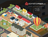 Isometric City Map Builder