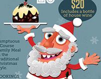 Santa Christmas Flyer